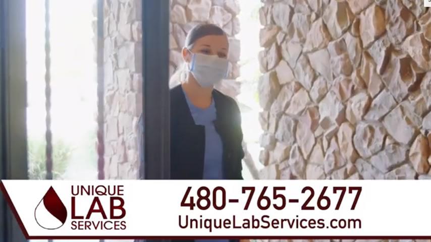 Healthcare Ad: Unique Lab Services